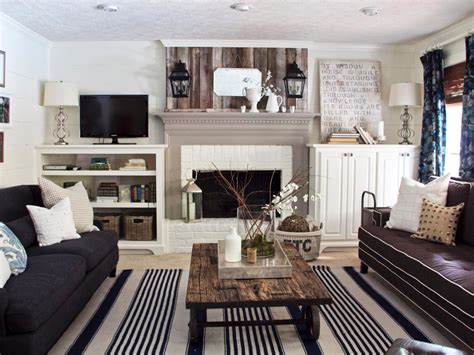 cottage living rooms photos hgtv