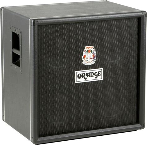 Orange Bass Cabinet by Orange Obc410 4x10 Bass Cabinet Black Gak