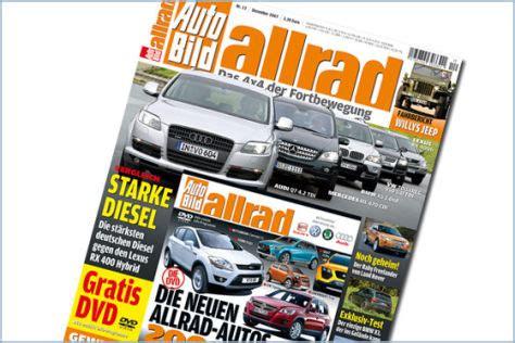 Auto Bild Allrad 9 by Dezember Ausgabe Mit Dvd Autobild De