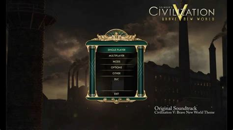 civilization v brave new world theme youtube civilization v brave new world ost brave new world
