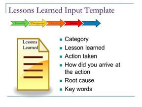 lessons learned powerpoint template lessons learned powerpoint template capturing and applying