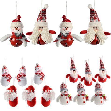 ebay xmas decorations santa snowman hanging christmas tree christmas decorations