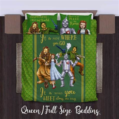 wizard of oz bedding the wizard of oz duvet cover bedding set king queen