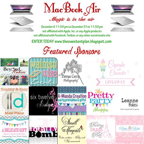 Free Macbook Air Giveaway - leanne bakes macbook air giveaway