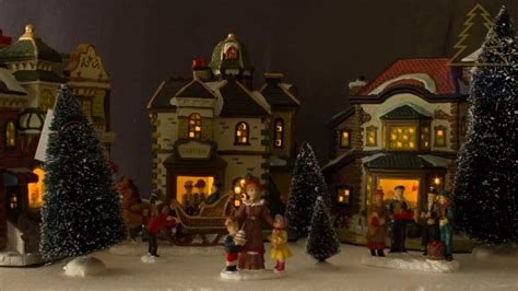 christmas village sets royal christmas porcelain christmas village set 132144 youtube