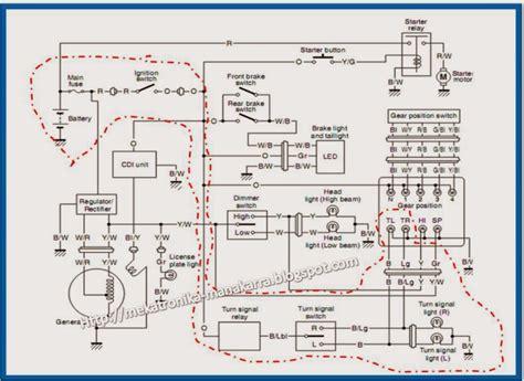 Alarm Pada Sepeda Motor mekatronika manakarra membuat alarm anti maling vers 01