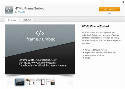 html tutorial embed video html app support center wix com