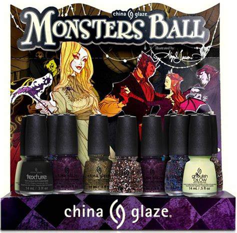 Opi Rock Goddess 2013 Collection 4 X 375 Ml china glaze 2013 monster s collection