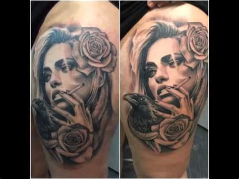 tattoo sombras realismo youtube