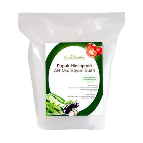 Nutrisi Ab Mix Sayuran Buah Kemasan Ekonomis Untuk 100 Liter Larutan jual nutrisi hidroponik ab mix sayuran buah 2 5 kilo harga kualitas terjamin blibli