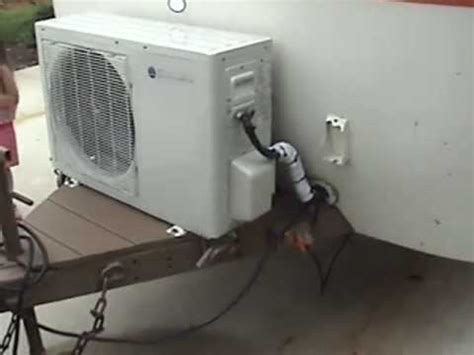 mini split a/c on a rv camper. better than a roof top or a