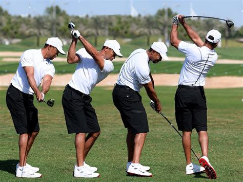 tiger woods swing tiger woods swing sequence scoopnest