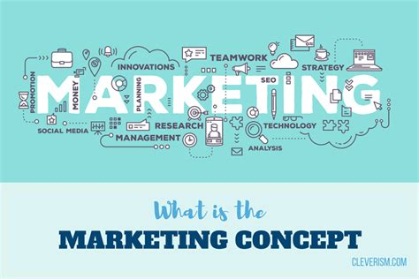 what is concept major marketing concepts you need to know