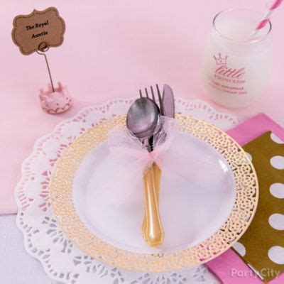 Baby Shower Place Setting Ideas by Pink Baby Shower Stroller Idea City