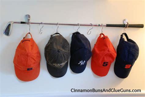 hat hanger ideas golf club hat rack decorating ideas pinterest my