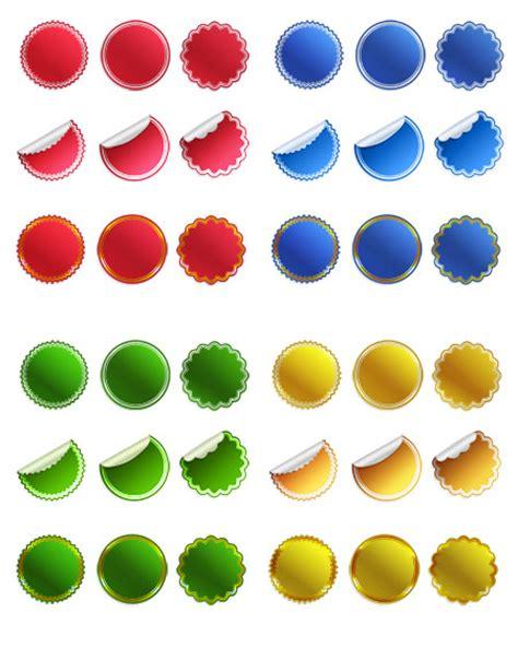 36 Blank Sticker Templates Psd Sticker Template Psd
