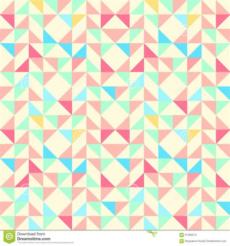 square pattern background vector geometric seamless pattern background with triangle