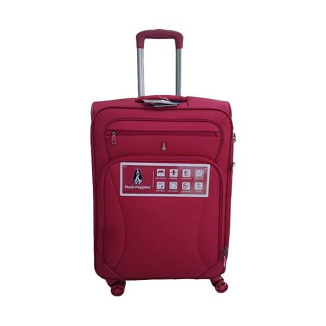 Tas Hush Puppies Abeni Maroon jual hush puppies 693138 expandable softcase kabin koper