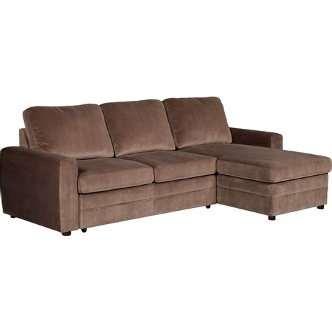 leather couch pull out bed furniture minimalist two tone living room featured