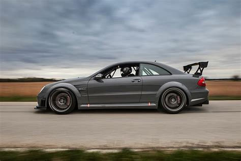mercedes modified this modified mercedes clk63 is truly a terrifying machine