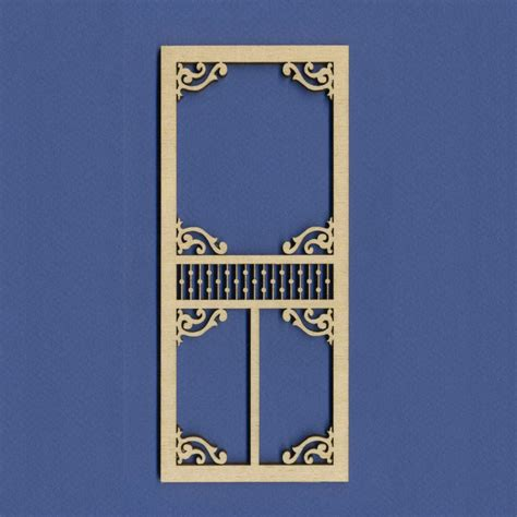 doll house parts dollhouse screen door a dollhouse parts