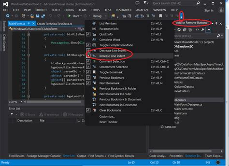 format html code in visual studio 2013 how do you auto format code in visual studio stack overflow