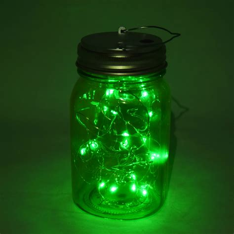 fantado regular mouth light lime mason jar light w