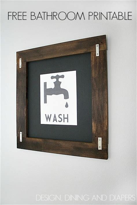 vintage bathroom printables free printable bathroom art free printable included