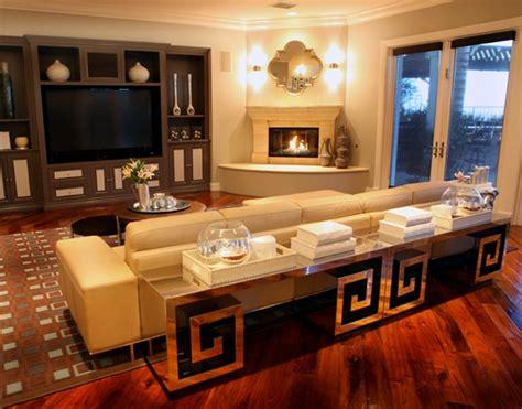wohnzimmer wandlen moderne wohnzimmerm 246 bel mit spiegelfl 228 che