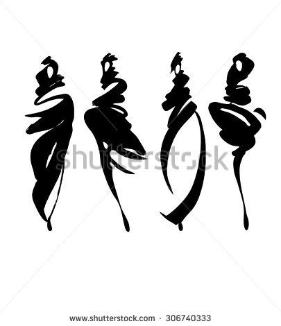 fashion illustration silhouettes fashion models free drawings silhouettes stock vector