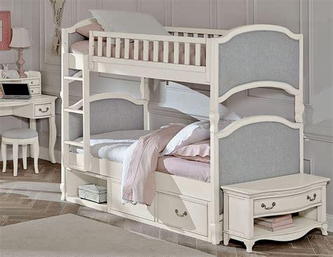 Antique White Bunk Beds Kensington Antique White Bunk Bed With Storage 20031ns Ne