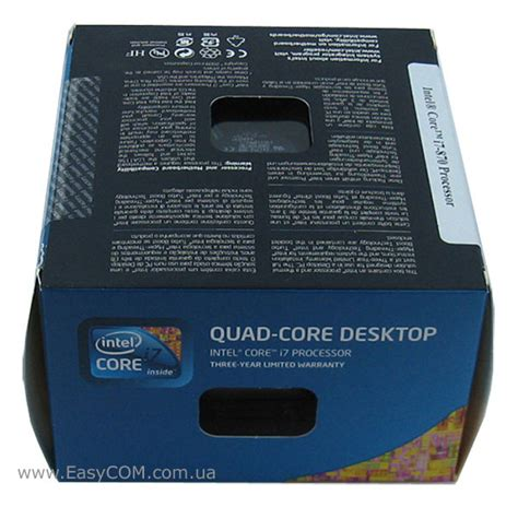I7 870 2 9 Box Sc 1156 intel i7 870