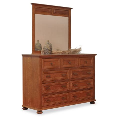 large dressers for bedroom canyon large dresser mirror amish canyon large dresser