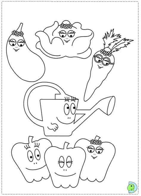 barbapapa coloring page dinokids org