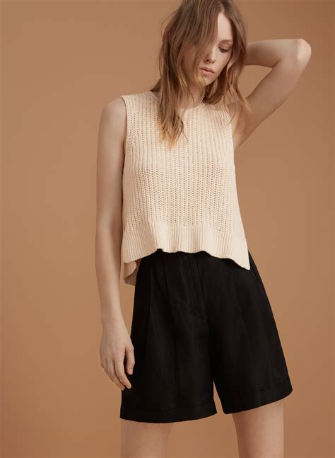 Garion Shoes le fou wilfred garion knit top aritzia