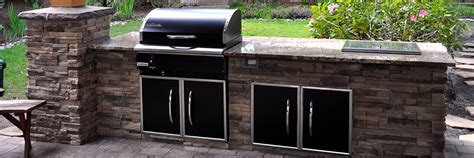 Plans To Build A Kitchen Island outdoor kitchen and bbq space grilling with rich