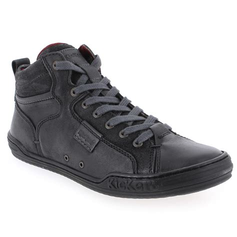 Chaussures Kickers by Chaussure Kickers Justice High Noir 4745601 Pour Homme Jef Chaussures
