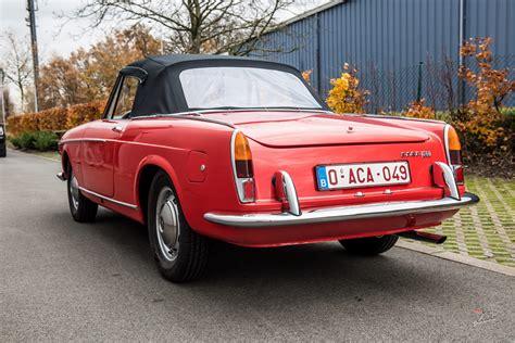 classic car service fiat 1500 cabriolet typo 118h pininfarina classic car