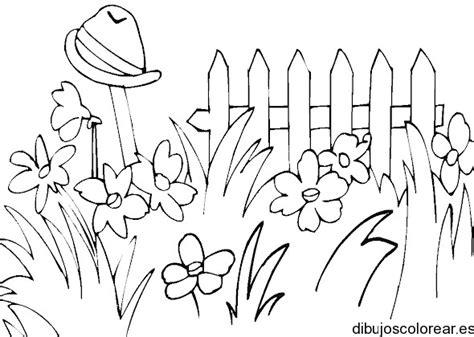 dibujos para pintar en guardapolvo de egresados jardin dibujo de jard 237 n de flores