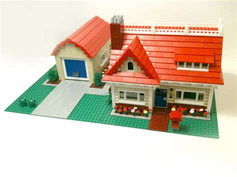 how to make a house cozy custom build lego cozy bungalow cc youtube