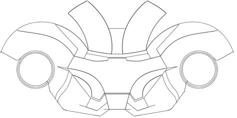 ironman mask template dali lomo iron 4 costume helmet diy cardboard with
