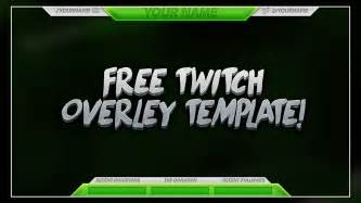 Gfx Psd Templates by Free Twitch Overlay Template Psd Free Free Gfx