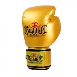 Golden Gloves White Leather Gloves Buddha Thailand Buddha Sports S L U
