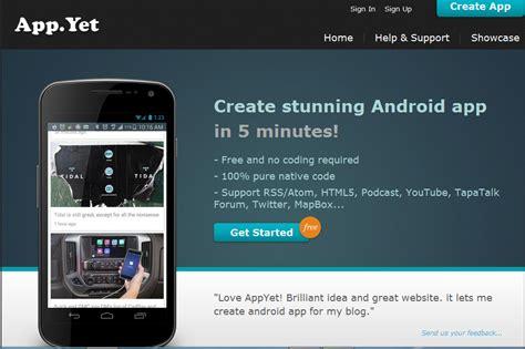 cara membuat aplikasi online untuk android cara membuat aplikasi android admob di appyet free tanpa