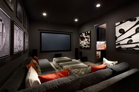 Media Room Decor Monticello Homes 2013 Cibilo Parade Of Homes Contemporary Home Theater By