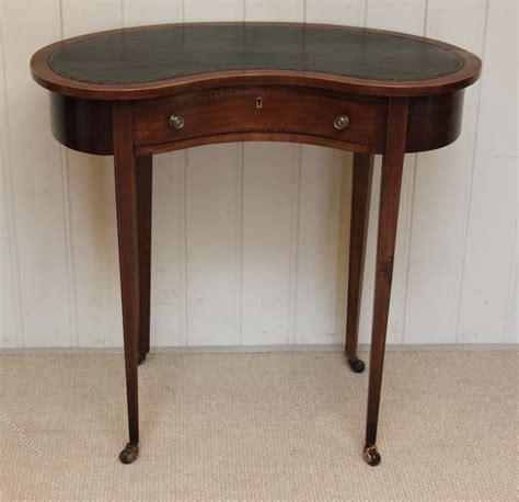 antique kidney shaped desk edwardian kidney shaped desk antiques atlas