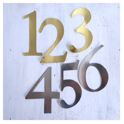 number stickers gold or silver number stickers wedding table numbers craft