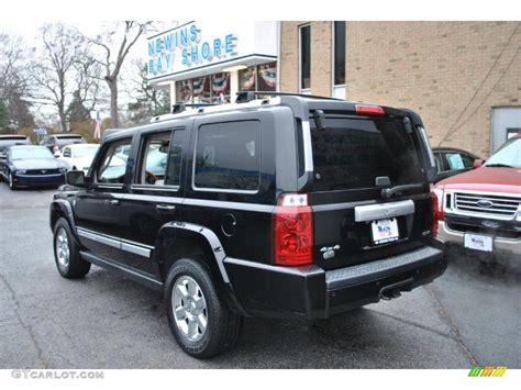 2007 Black Jeep Commander 2007 Black Clearcoat Jeep Commander Overland 4x4 74490150