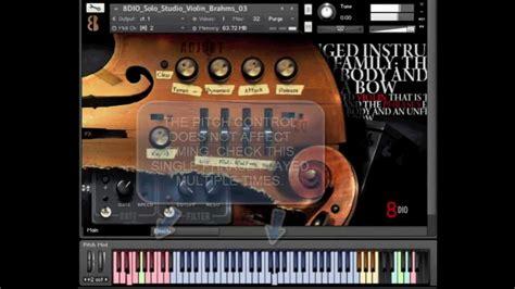 kontakt full version mac 8dio solo violin designer 1 0 youtube