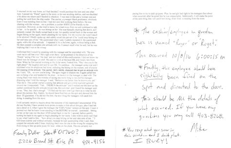 Complaint Letter To Yelp How To Write A Complaint Letter About An Employee Rudeness